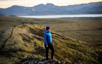 Erla Þórdís leiðsögukona hjá Fjallhalla fann ástina á fjöllum