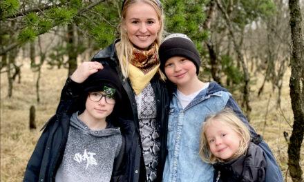 Katrín Ósk rithöfundur skrifar skilaboð til barna um það mikilvægasta í lífinu